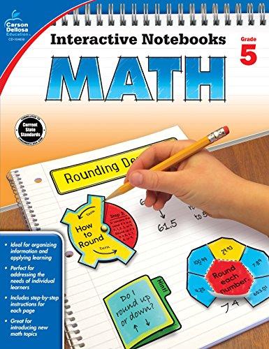 Carson Dellosa Math Interactive Notebook, Grade 5 (Interactive Notebooks) from Carson-Dellosa