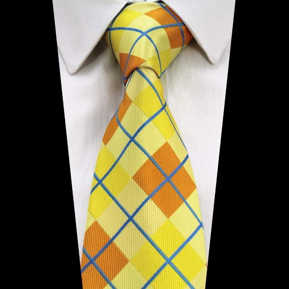 Txrh Corbatas Lazo de los Hombres del Lazo de la Tela Escocesa ...
