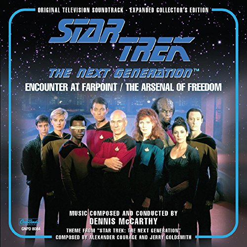 Price comparison product image Star Trek-The Next Generation Orignal Television Soundtrack Expanded Edition: Encounter at Farpoint & Arsenal Of Freedom