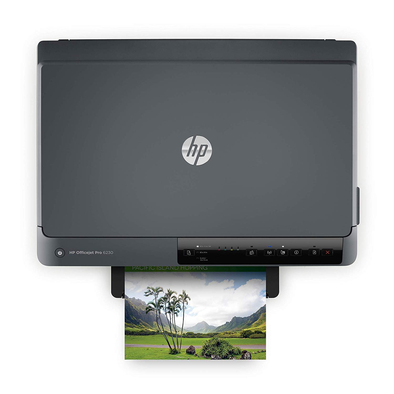 HP OfficeJet Pro 6230 Wireless Printer, Amazon Dash Replenishment ready (E3E03A) by HP