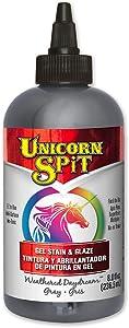 Unicorn SPiT 5771013 Gel Stain & Glaze, Weathered Daydream, 8 Ounce Bottle