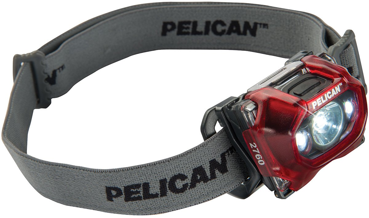 Pelican 2760C LED Headlamp (Red)