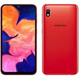 "Samsung Galaxy A10 32GB A105G/DS LTE Unlocked GSM 6.2"" HD+ Smartphone - International Version, No Warranty (Red)"
