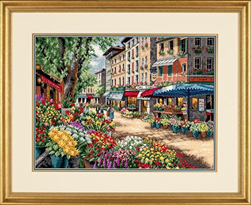 counted cross stitch kit paris