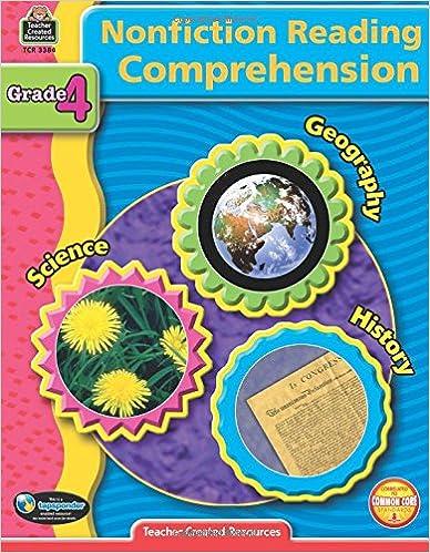 Amazon.com: Nonfiction Reading Comprehension Grade 4 ...