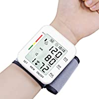 Digital Wrist Blood Pressure Monitors 120 Reading Memory Clinically Accurate & Adjustable...