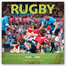 Rugby 2018 12 x 12 Inch Monthly Square Wall Calendar