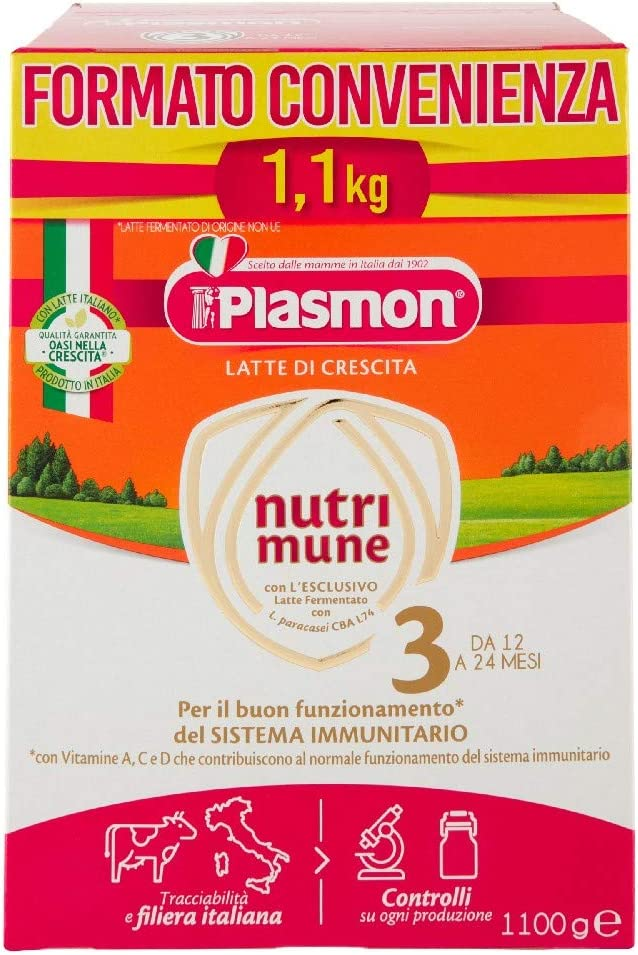 Plasmon Latte Polvere Stage 3 - Special Pack - 1100 g