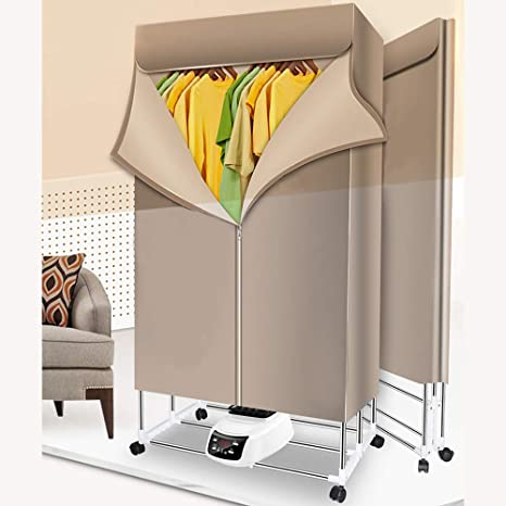 Portable Electric Hot Airer Rack Clothes Dryer Fast Drying Foldable Machine