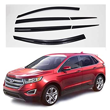 6 pieces Autoclover Wind Deflectors Set for Jeep Cherokee 2015+