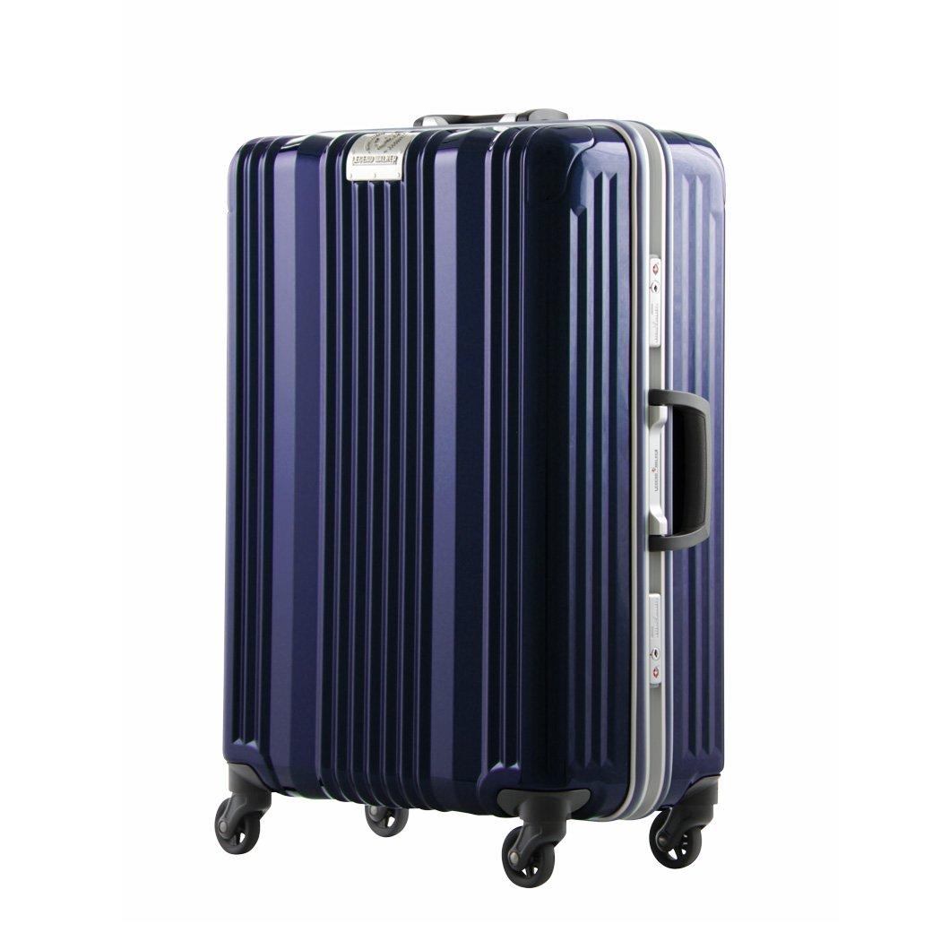 [アウトレット]スーツケース キャリーバッグ キャリーケース LEGEND WALKER レジェンドウォーカー 超軽量 大型 L サイズ 『B-6026-70』 ネイビー B07PN7PTDS