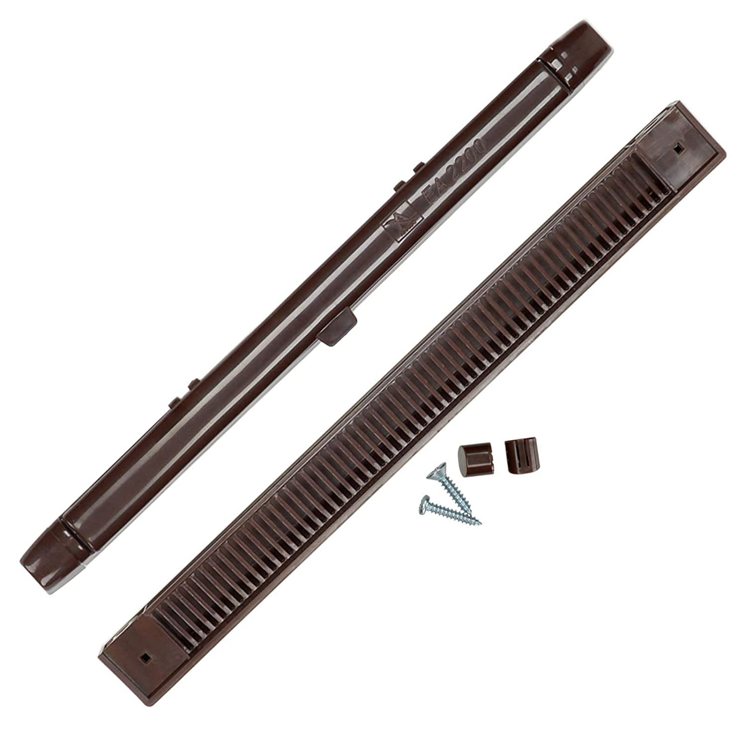 Window Trickle Slot Vent BROWN for UPVC & Timber Windows - 407mm Air Away