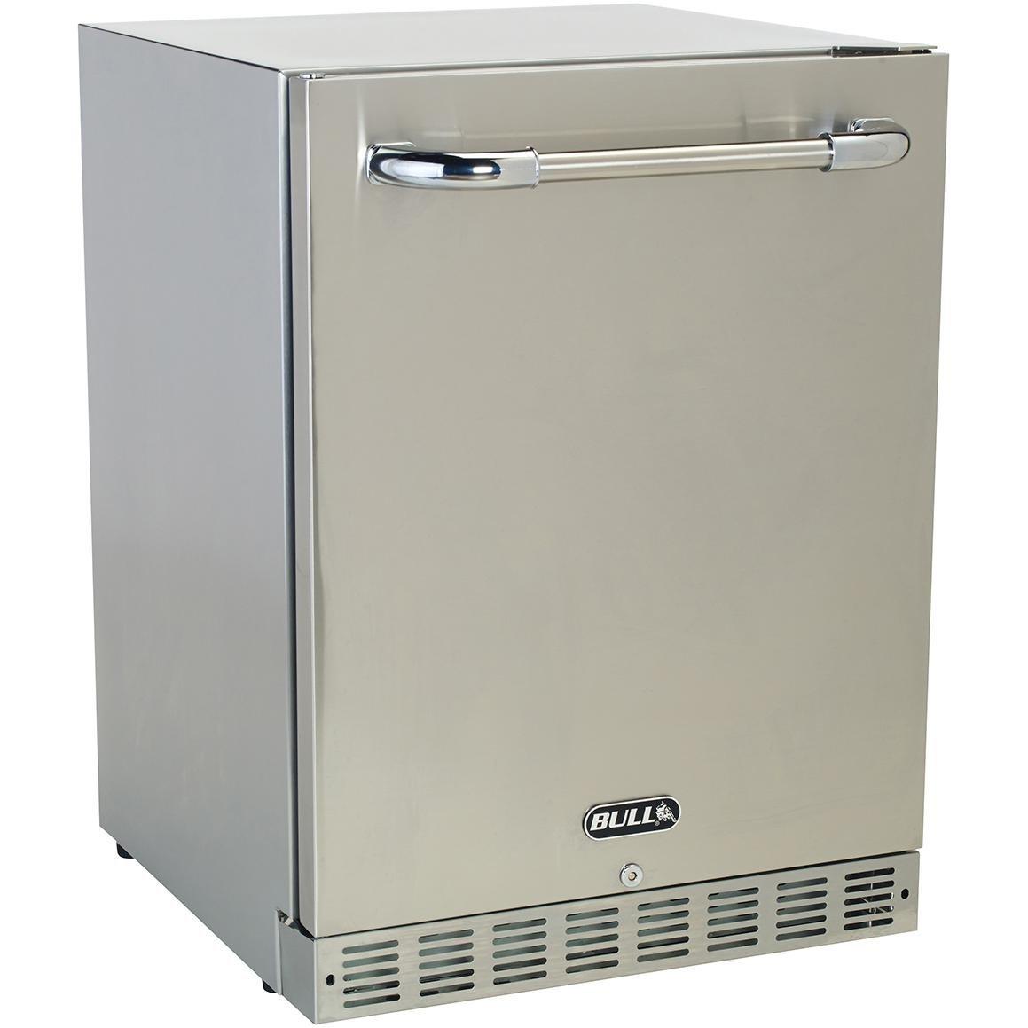Refrigerator Outdoor Amazoncom Bull 24 Inch Compact Refrigerator 56 Cu Ft Built