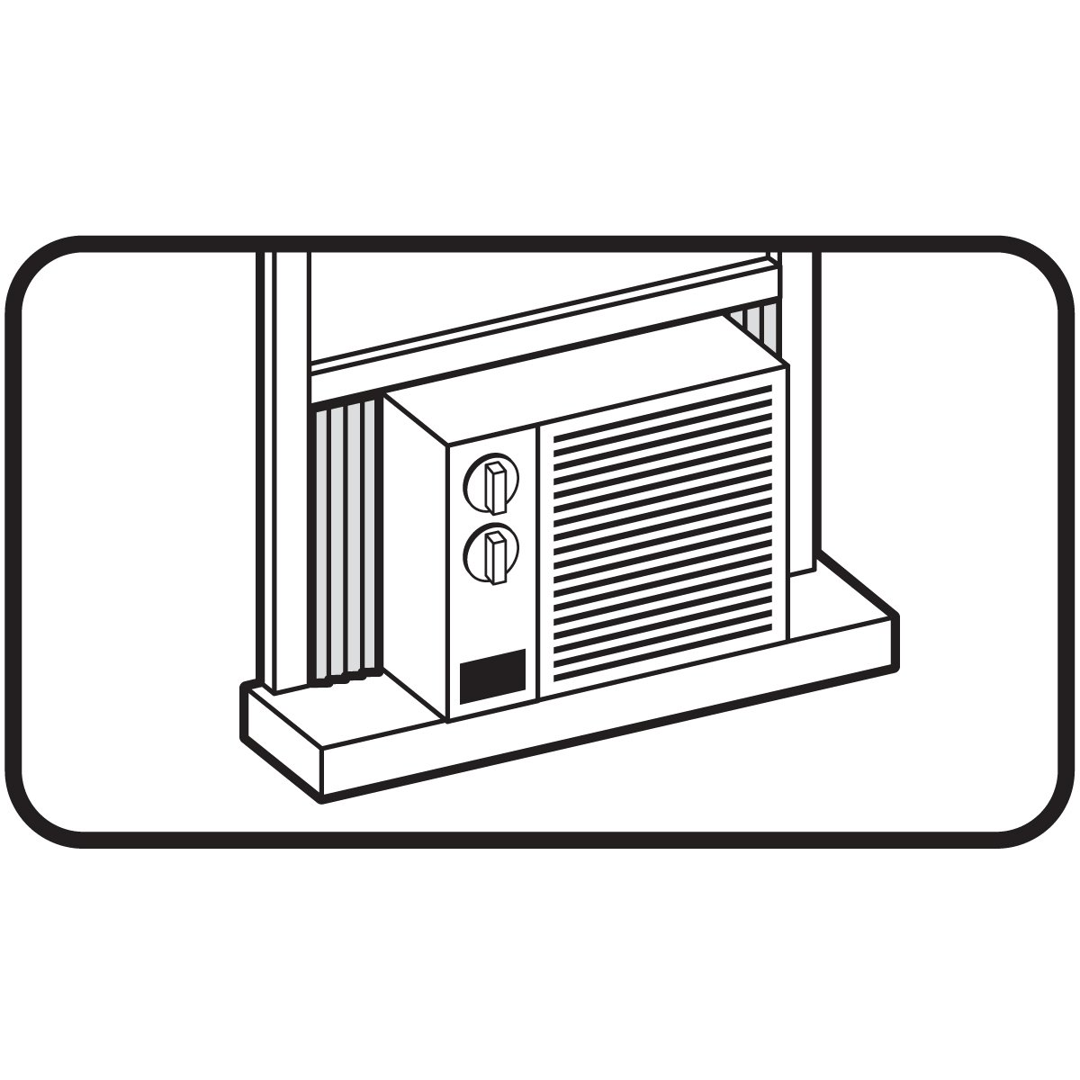 M-D Building Products 8308 Air Conditioner Side Panel Kit, Gray