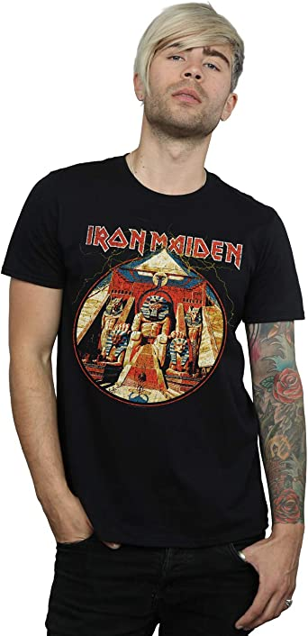 Absolute Cult Iron Maiden Hombre Number of The Beast Camiseta