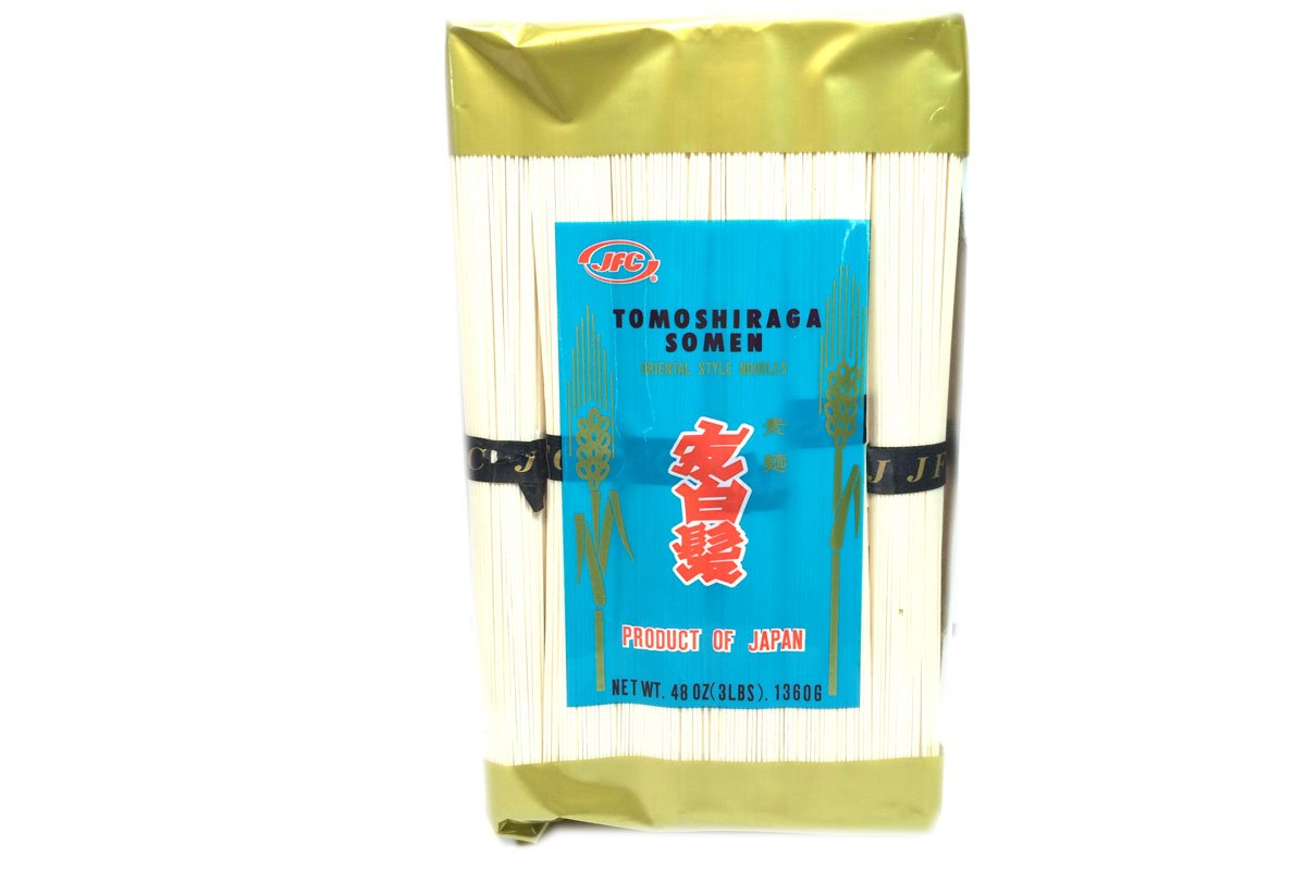 Tomoshiraga Somen (Oriental Style Noodles) - 48oz [Pack of 3] by JFC