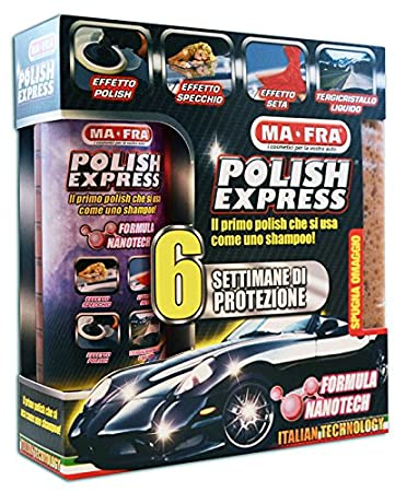 Detergente polish lucidante 250 ml MA-FRA POLISH KIT EXPRESS MA FRA