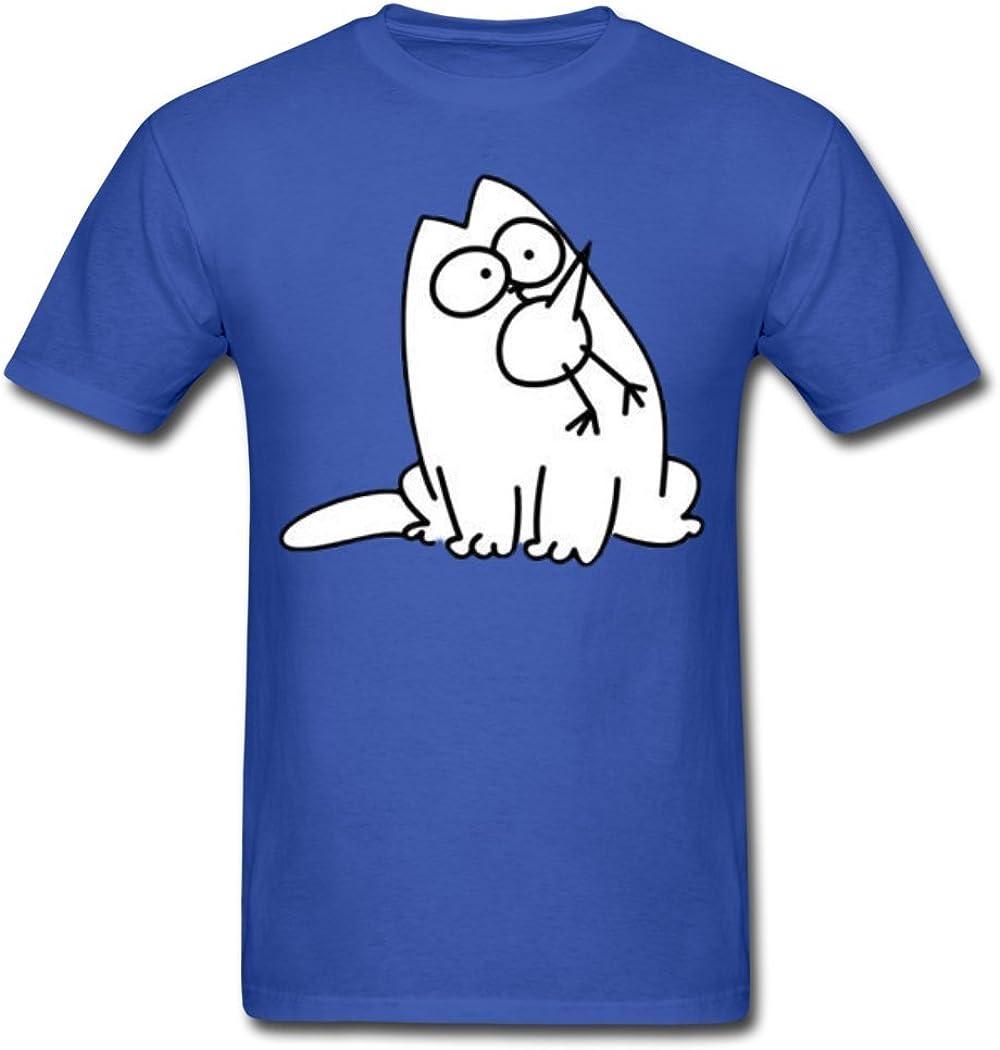 Simon Cat Herren T-Shirt