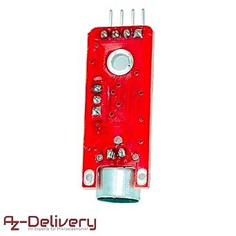 AZDelivery 3 x KY-037 Micrófono detección de Sonido de Alta ...