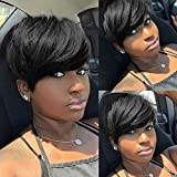 Short Pixie Cut Hair Natural Synthetic Wigs For Women Heat Resistant Wig Natural Hair Women's Fashion Wig