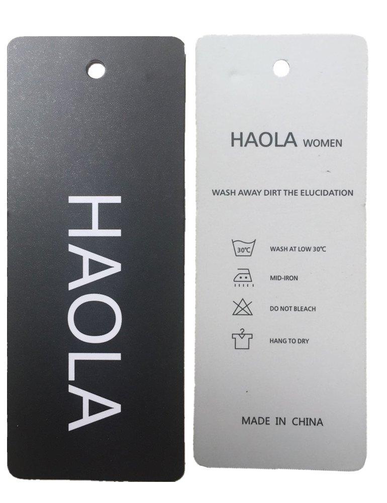 Haola Women's Juniors Denim High Waist Distressed Cutoff Shorts Blue L by Haola (Image #5)