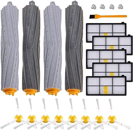 3set Bristle Brush Vacuum Part For Irobot Roomba 800 870 880 900 Series Cleaner