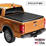 """TruXedo Truxport Soft Roll Up Truck Bed Tonneau Cover   297701   fits 15-20 Ford F-150 5'6"""" bed"""