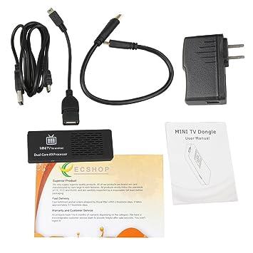MK808 Dual Core Android 4 1 TV BOX Rockchip RK3066 Cortex-A9 Mini PC Smart  TV Stick