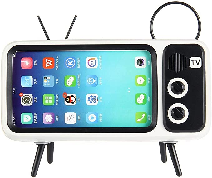 Retro TV Altavoz Bluetooth V4.2 Vintage inalámbrico Radio teléfono ...