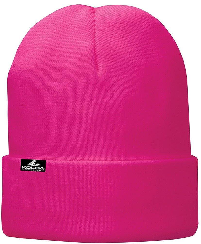 b23f480dc Koloa Surf Soft & Cozy Fleece Lined Fold Beanies in 12 Colors