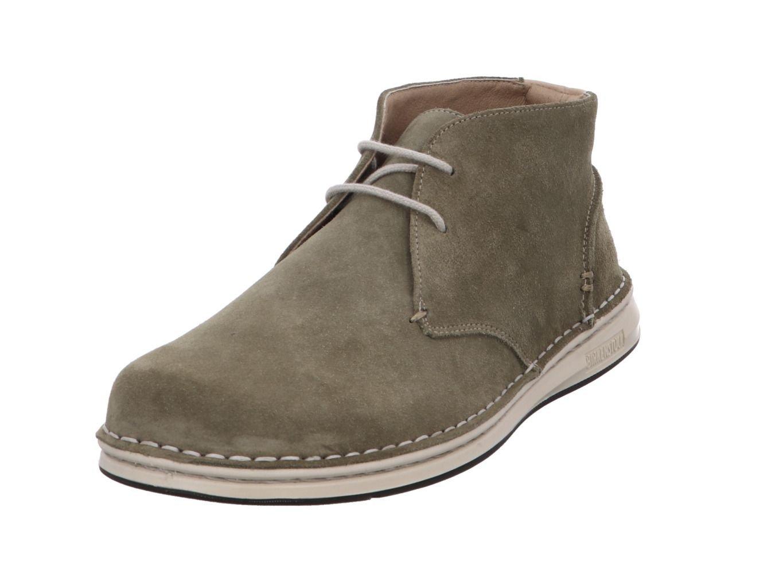 Birkenstock Zapatos de Cordones de Piel Para Hombre Caqui 42 EU|caqui