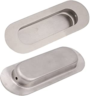 uxcell Cabinet Closet Door Recessed Sliding Finger Pull Handles