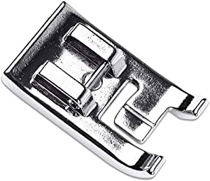 DREAMSTITCH SA192 F067 7mm Double Piping Presser Foot for All Low Shank and High Shank (Use Master Shank) Singer,Brother,Babylock,Janome,White,Juki,Janome,New Home,Simplicity,Elna Sewing Machine 7330