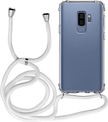 MyGadget Funda Transparente con Cordón para Samsung Galaxy S9 Plus: Amazon.es: Electrónica