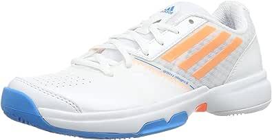 adidas Performance Galaxy Allegra III, Zapatillas de Tenis para Mujer, Blanco (Weiß (Running White FTW/Glow Orange S14/Solar Blue S14), 38 2/3 EU: Amazon.es: Zapatos y complementos