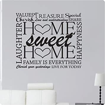 Amazoncom 36 Home Sweet Home Family Cherish Yesterday Live For