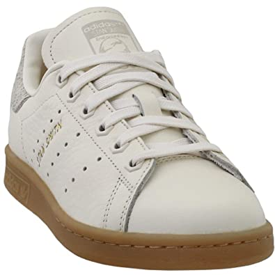 online store 3072f 31e1f adidas Womens Stan Smith Casual Athletic   Sneakers White