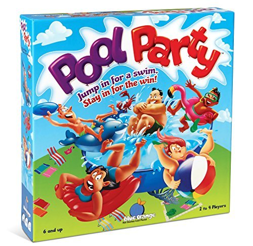 Blue Orange Games Pool Party Family Action Game [並行輸入品] B07SB3V29K
