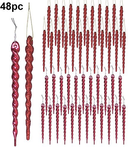 Long Icicle Ornaments - 9