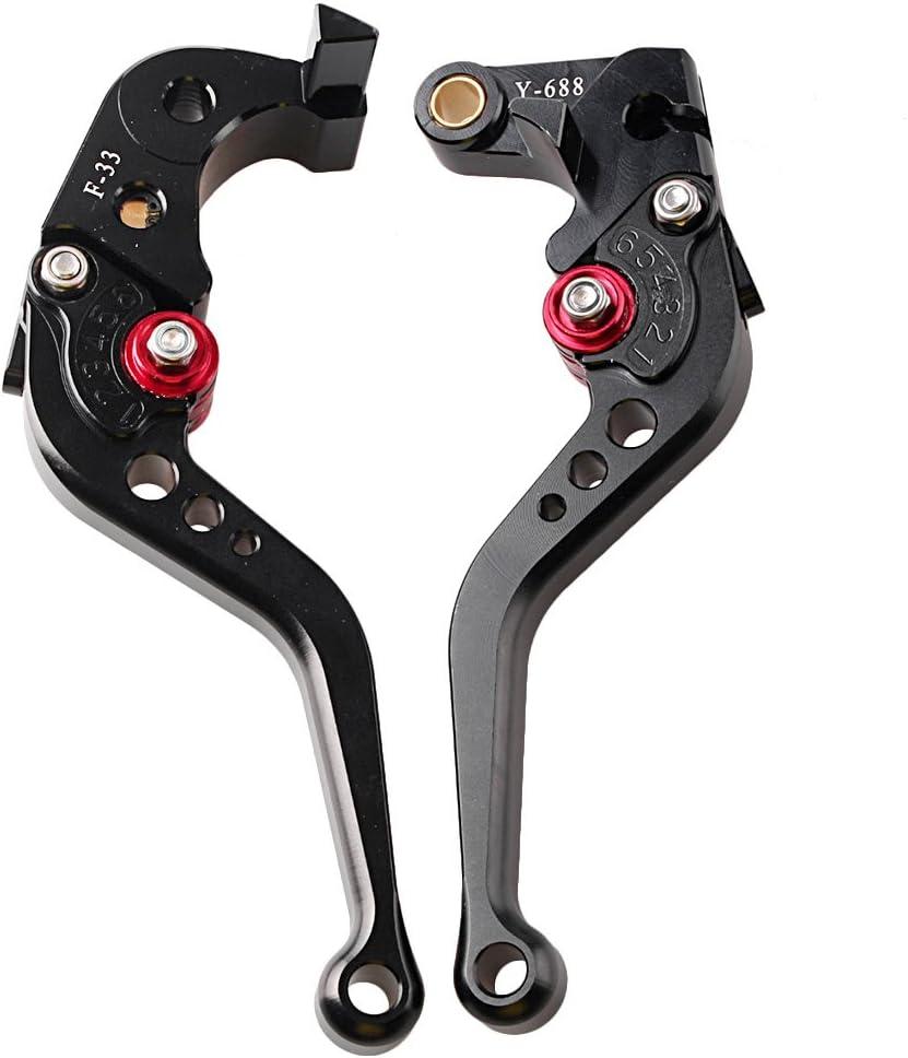 GZYF Short Brake Clutch Levers For HONDA CBR 1000 RR 08-16 CBR 600 RR 07-16 F5 Silver