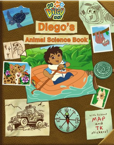 Go Diego Go Toys (Diego's Animal Science Book (Go, Diego,)