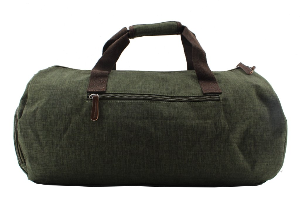 Jiao Miao Water repellent Sport Gym Travel Duffel Bag Weekender Bag with Shoes Compartment,180601-07-M