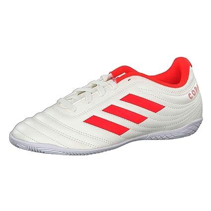 Adidas Copa 19.4 In J, Botas de fútbol Unisex niño, (Casbla/Rojsol