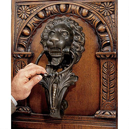 Design Toscano Florentine Lion Door Knocker