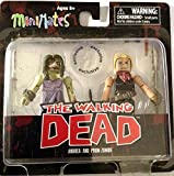 The Walking Dead Comic Book Minimates Series 7 Andrea and Prom Zombie Exclusive Minifigure 2-Pack by Art Asylum