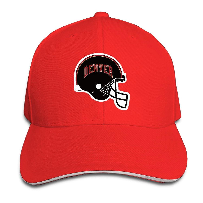 Denver Pioneers Sandwich Cap Size: Adjustable Caps.