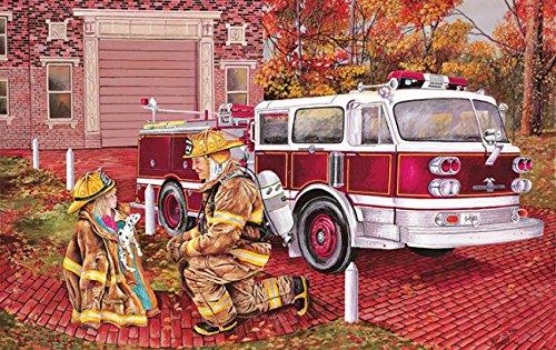 Retro Fire Engine - 5
