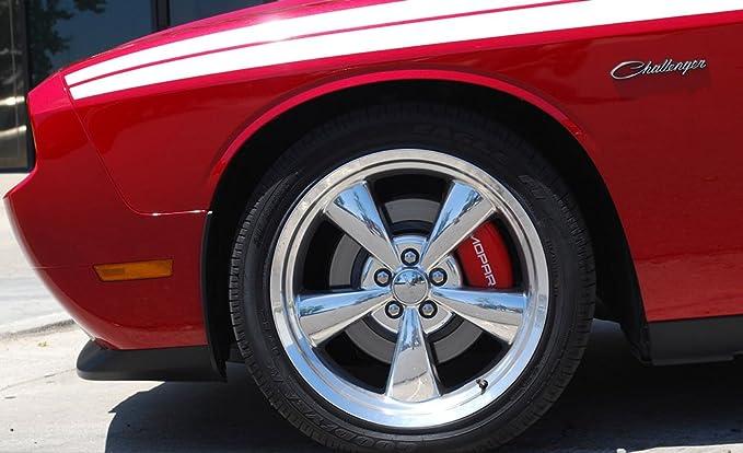 32025 Set of 4 Brake Caliper Covers  fits Chrysler Pacifica w//MOPAR Engraving