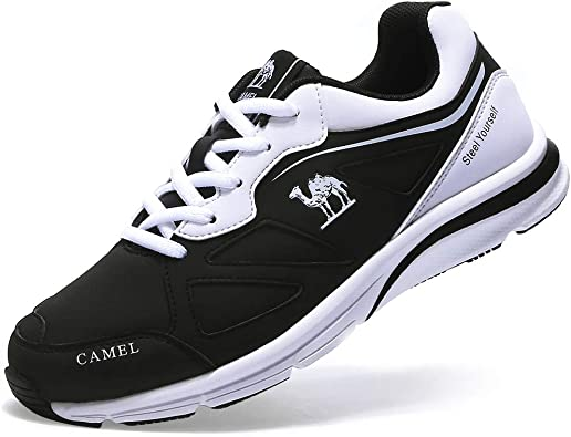 CAMEL CROWN Chaussures Sports Basket Femmes Running Course Casual Multisports Sneakers Noir Rose