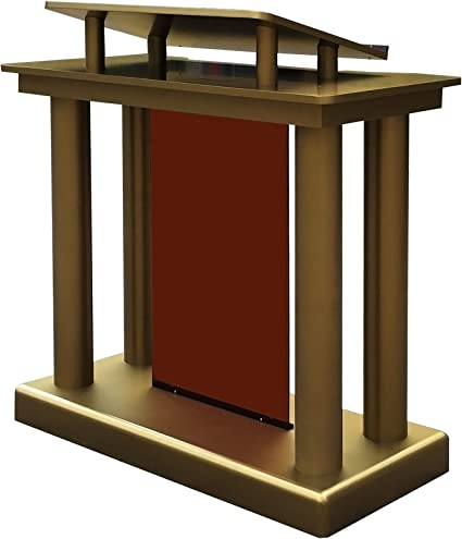 Amazon Com Fixturedisplays Deluxe Podium Floor Standing Lectern